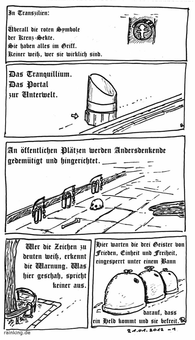 Berlin verwunschen magisch Fantasy Unterwelt Sekte Geister Hinrichtung