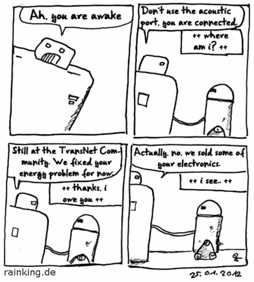 comic last call robot
