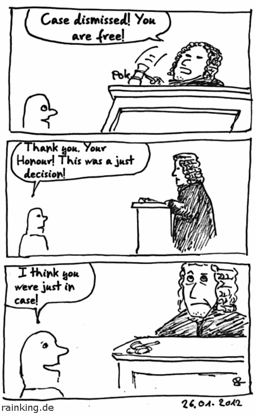 comic just in case judge judgement