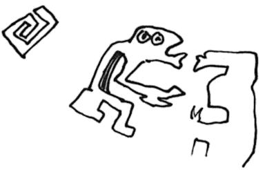 scribble kuss