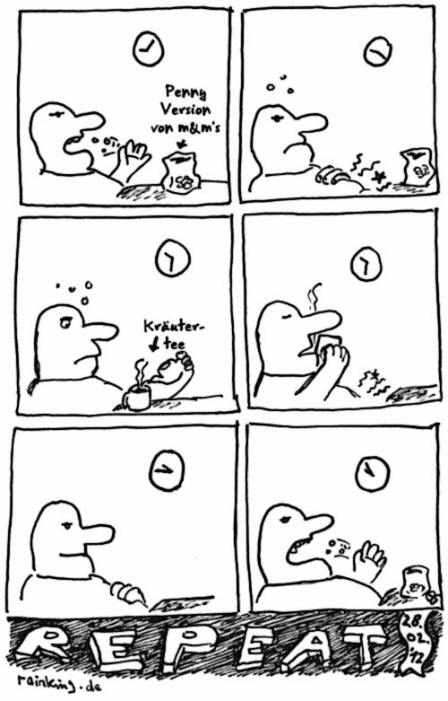 comic essen tee magen übelkeit