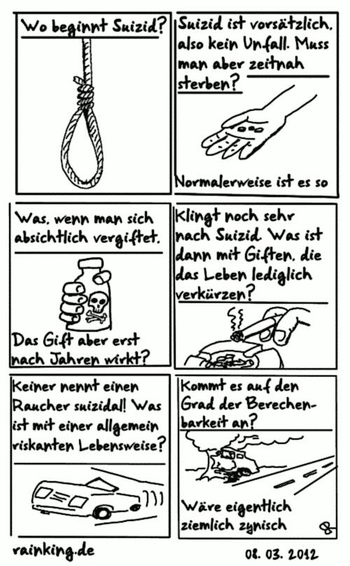 comic suizid gedanken selbstmord