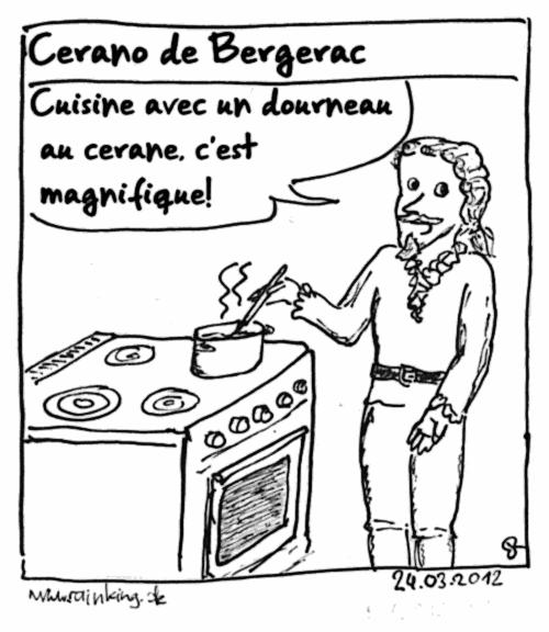 pun francais comic cyrano de bergerac ceran herd kochen kochfeld