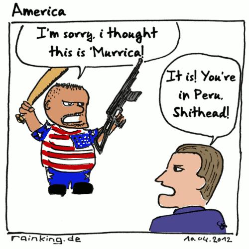 comic murrica usa ignorance peru stupid america
