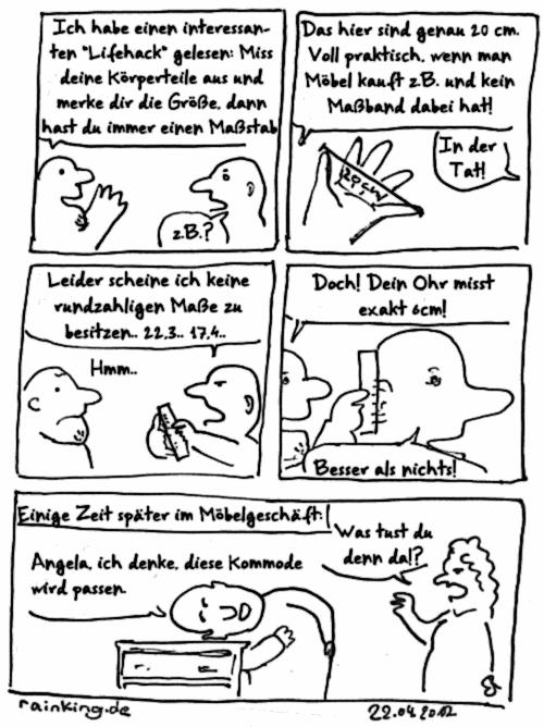 comic körperteile ausmessen lifehack möbel kaufen
