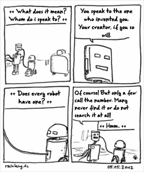 comic robot last call