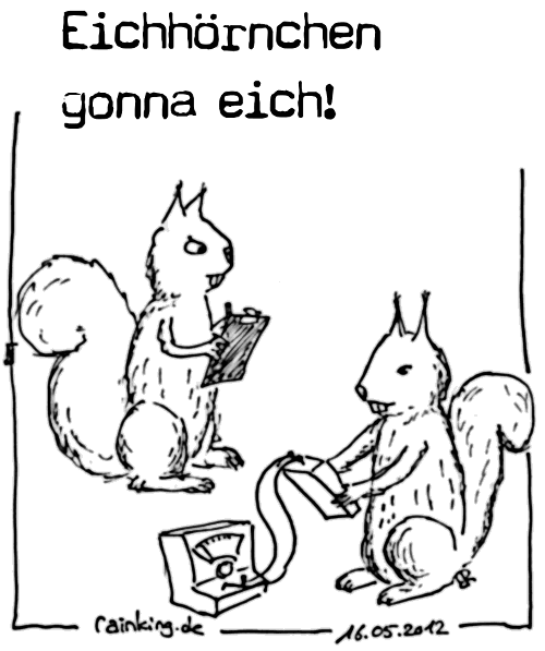 comic cartoon eichhörnchen gonna eich coldmirror