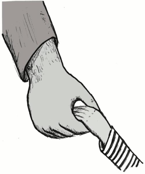vater tochter hände hand halten