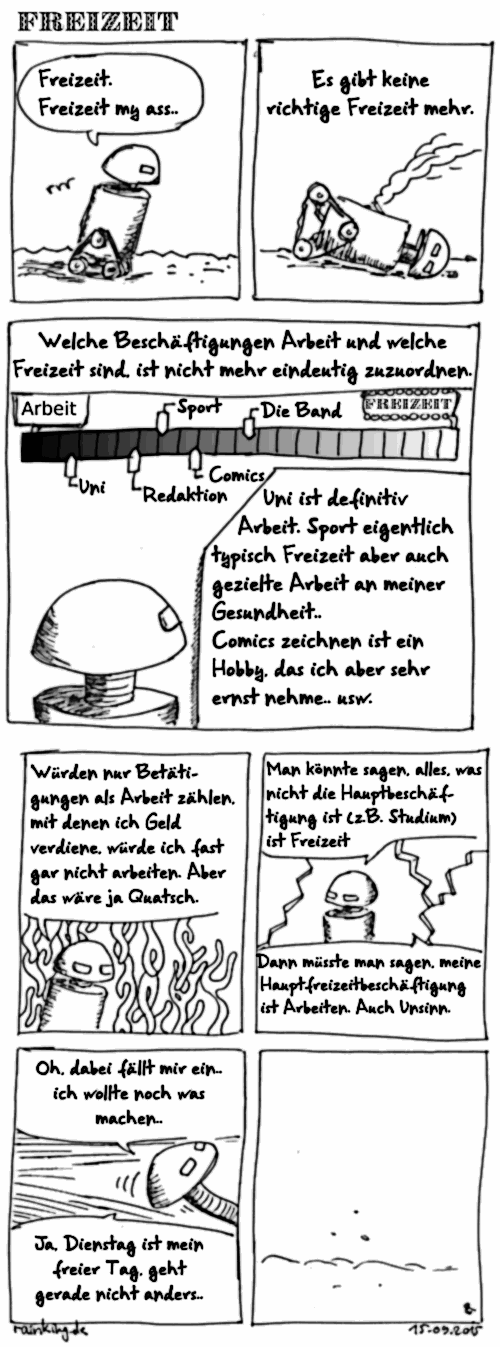 comic collab Freizeit