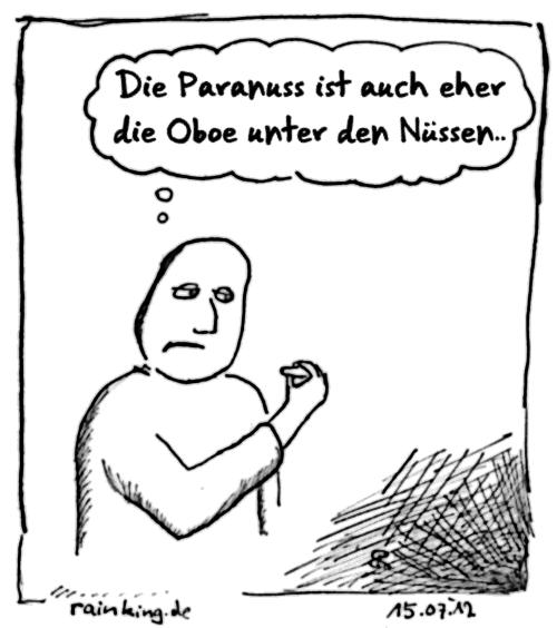 paranuss oboe cartoon