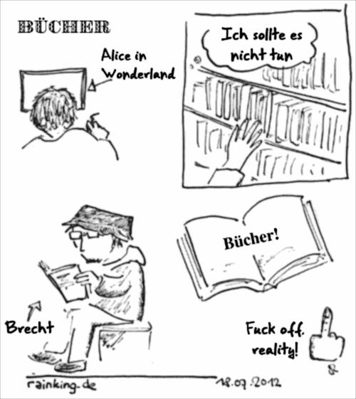 comic Bücher lesen brecht