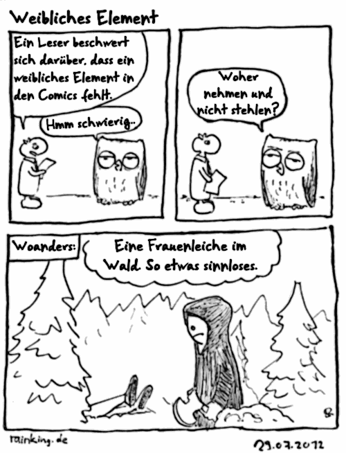 comic leiche frau weibliche wald